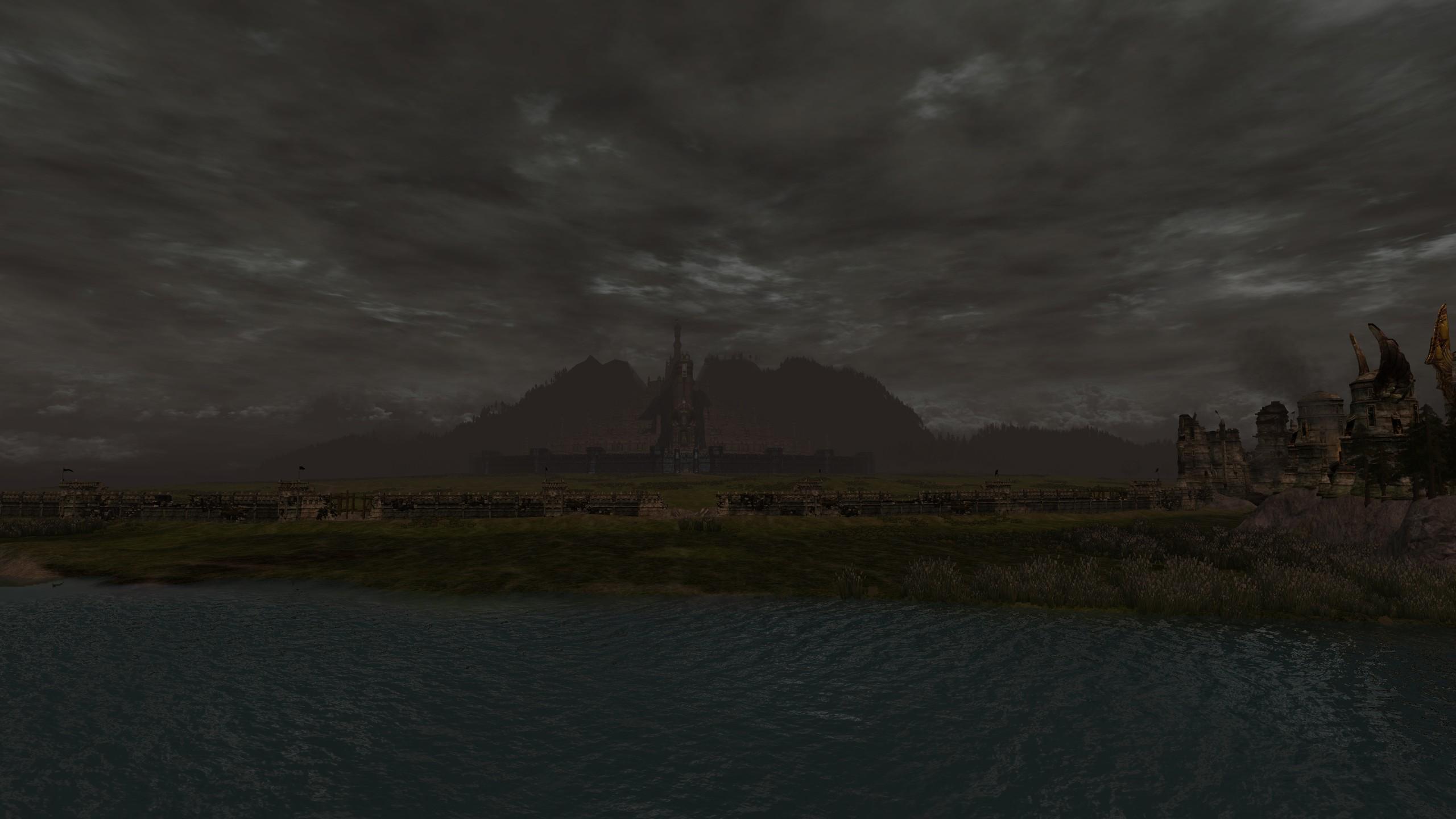 Minas Tirith de loin